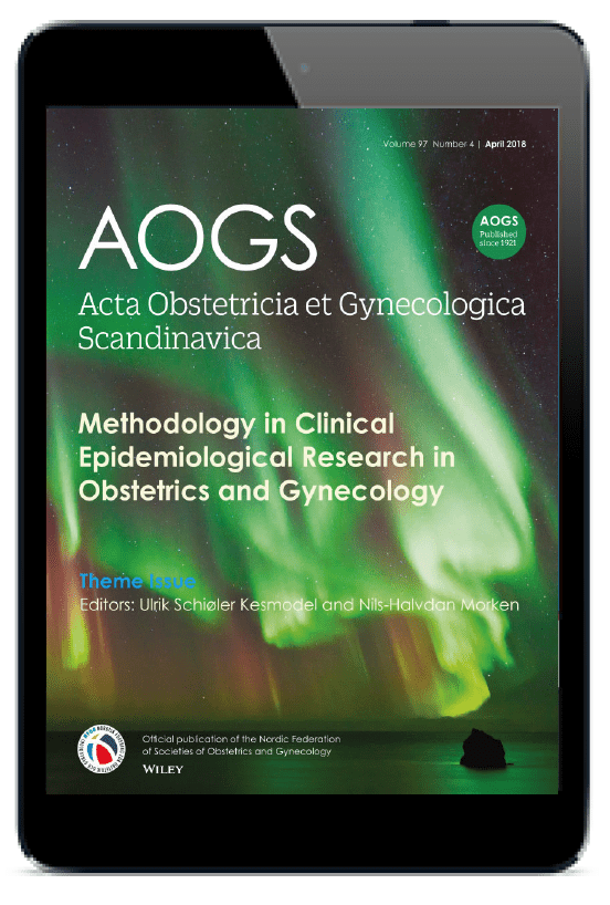 Download the Acta Obstetricia et Gynecologica Scandinavica